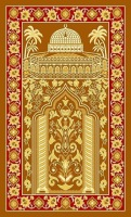 Hot Sell Prayer Rug Praying Carpet Winter Thicken Muslim Prayer Mat Arabic Prayer Rug Tapis Muslim for Sale