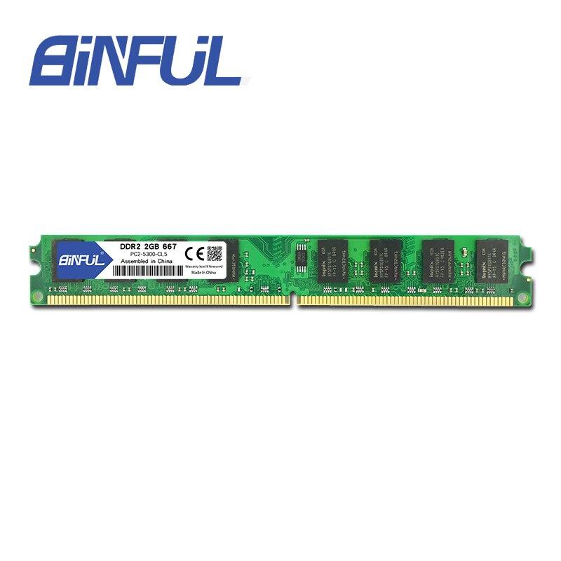 זיכרון DIN2 2GB 667MHz זיכרון RAM עבור שולחן - רכיבי מחשב