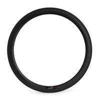 700C 50mm Clincher Chinese Carbon Road Bike Rim 20 24 28 Holes Single Rim For Road