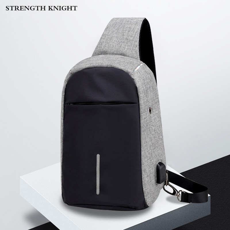 Mens Shoulder Bag Fashion Men Crossbody Chest Bags Casual Oxford  Messenger