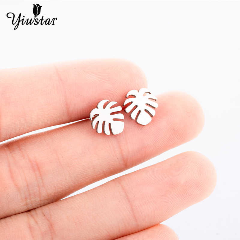 Yiustar Stainelss Steel Insect Stud Earrings for Decoration Women Exquisite Jewelry  Stud Piercing Cute Charming perfect Girls