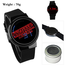 Strange Things Run Boys Girls Watch Waterproof LED Touch Scr
