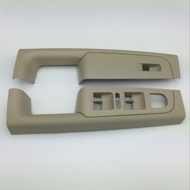 2 Pieces for Skoda Superb 2008-2013 Beige Window Switch Control Panel Trim Left and Right 3TD 867 157 A/158 A 3T1 867 157/158
