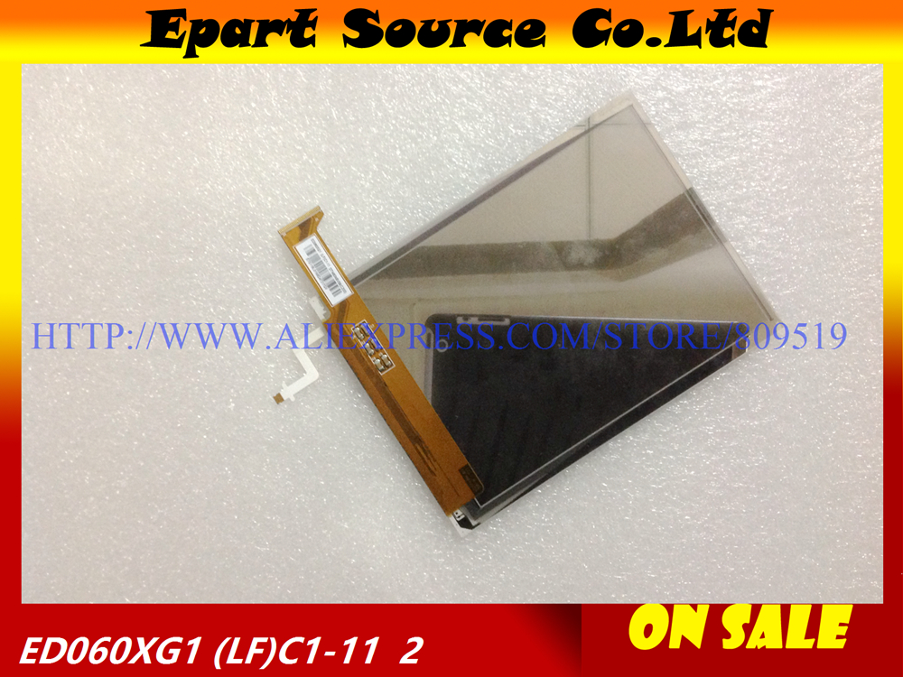A+NEW Original ED060XG1 (LF)C1-11/ED060XG1(LF) LCD Screen Display Panel for E-book Ebook Reader 6 lcd display screen for onyx boox albatros lcd display screen e book ebook reader replacement