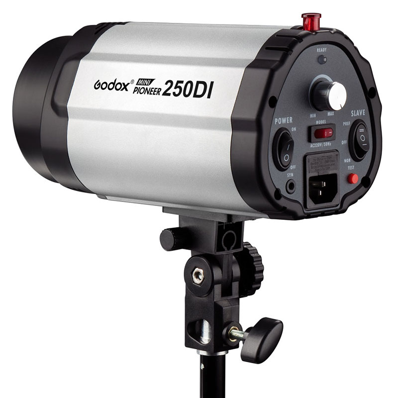 Godox 250DI 250ws Mini Master Photo Studio Flash Monolight Photography Strobe light with Lamp Head for