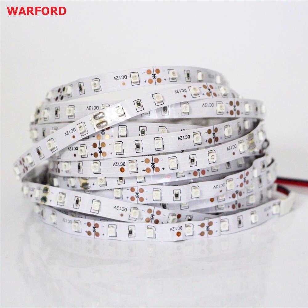 2835 3528 5050SMD Chip UV Led Strip Light 60leds 120leds Not-waterproof Ultraviolet 395-410nm DC 12V Led Tape Lamp Cabinet Lamp