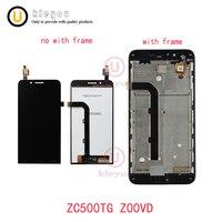 5.0 ''For 아수스 ZenFone 이동 ZC500TG Z00VD LCD 디스플레이 + 터치 스크린 패널 디지