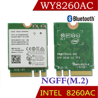 Winyao wy8260ac ngff banda dual wlan card w/intel wireless-ac 8260 8260ngw 2x2 wifi 802.11ac 300 mbps 867 mbps wi-fi bluetooth 4.2