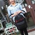 2016 niña de la escuela mochila de lona de la muchacha impresa Feminina mochila de lona mochila bolsa de la escuela hembra peces