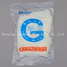 Nylon cable ties XGS-100M 3x100 self-locking type cable ties of plastic strapping band beam line with цена