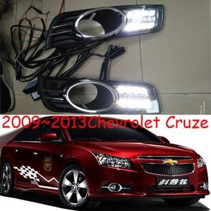Image 5 - LED tampon far CRUZE gündüz ışık araba aksesuarları 2009 ~ 2013y DRL başkanı işık için chevrolet CRUZE fog işik
