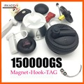 Magnético detacher 15000gs universal etiqueta de segurança remover1pcs + 1 gancho destacador de segurança super eas tag removedor para sistemas eas