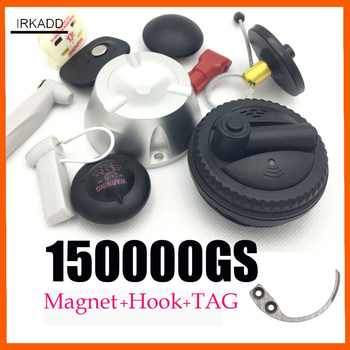 Magnetic detacher 15000GS universal security tag remover1pcs+1 hook detacher super eas security tag remover for eas systems - DISCOUNT ITEM  21% OFF All Category
