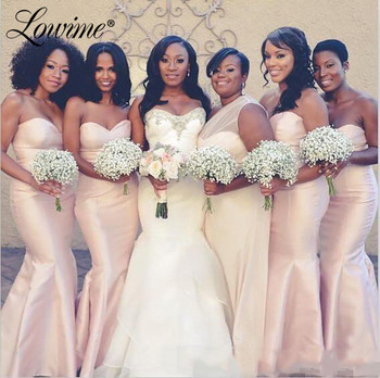 South Africa Women Pink Bridesmaid Dresses 2019 Custom Made Maid Of Honor Gowns Party Gown Mermaid Formal Wedding Guest Dresses Buy At The Price Of 87 33 In Aliexpress Com Imall Com,Maxi Dress For Wedding Pakistani 2018