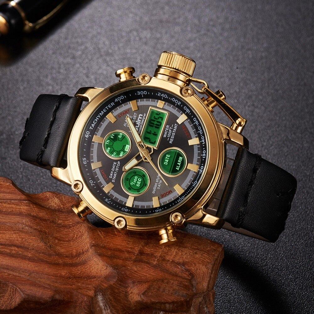 2019 CUENA reloj de los hombres de moda de cuarzo de cronógrafo reloj 3 Sub-esferas 6 impermeable multifunción deportes Casual Relojes