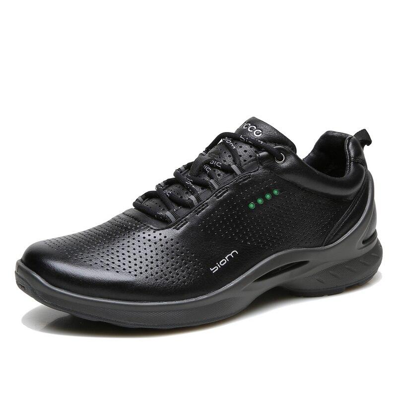ECCO chaussures pour hommes printemps nouveau décontracté quotidien chaussures de course respirant doux confortable chaussures pour hommes 837514