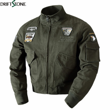 Winter Mens Bomber Jackets Military Air Force Pilot Jacket Warm Thick Tactical Army Jacket Wool Liner Cotton Thermal Men Coat