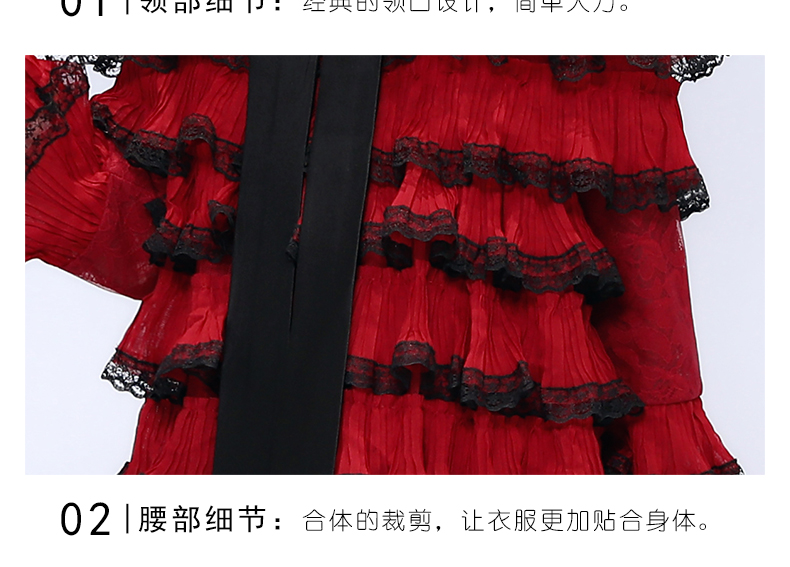 2019 luxe Desgin mère fille robes de mariée Style de gâteau pour la famille correspondant vêtements maman maman et fille robe de soirée - 5