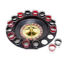 Shot glass game set for drinkingparties
