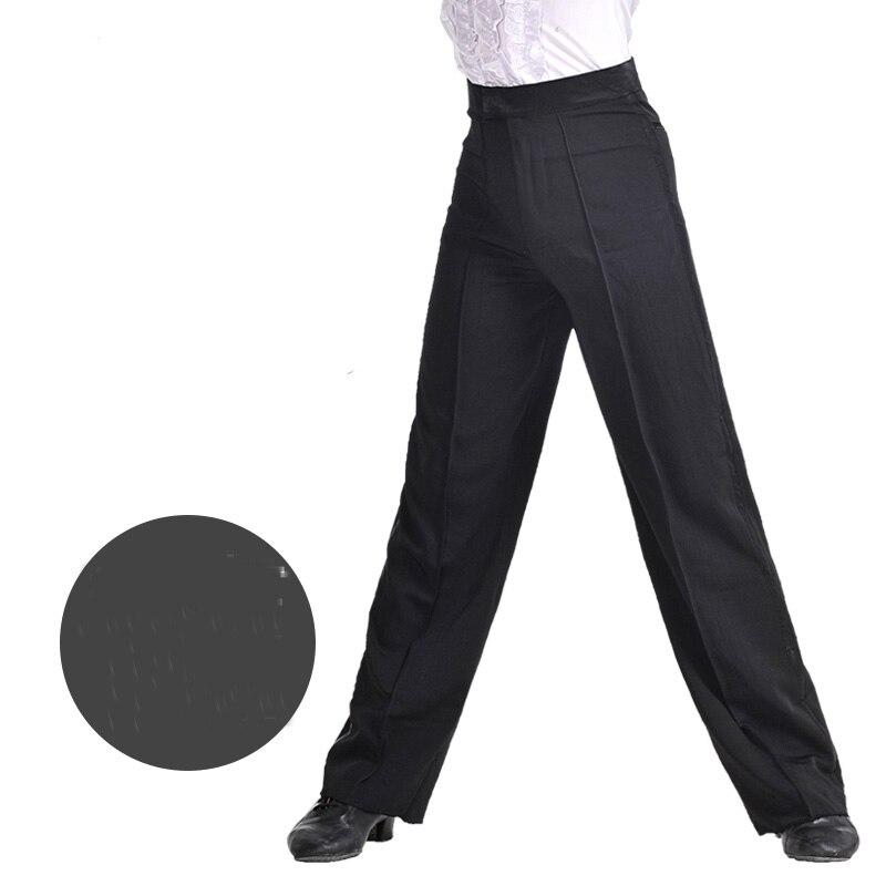 Classical Latin Dance Pant For Male Black Fringe Pant Men Square Children Chacha Professional Boy Tango
