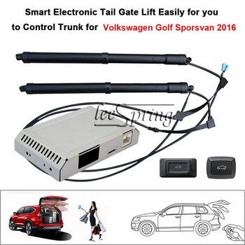 Автомобиль Электрический хвост ворота лифт специально для Volkswagen Golf Sporsvan 2016 с защелкой легко для управления багажником