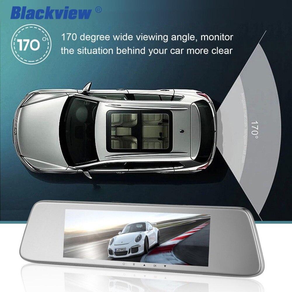 BLACKVIEW HS8C Car Dash cam 8 Inch Screen Rear view Camera Car Dvr Mirror Dual Lens Night Vision FHD 1080P Video Recorder Hot 3