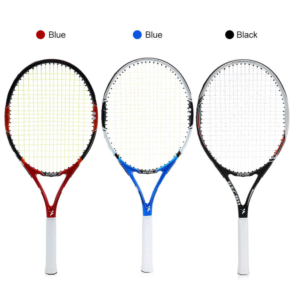 1Pc Carbon Tennis Racket Practice Training Tennis Racquet Indoor Outdoor Tennis Racket Racquets Equipped with Cover Bag