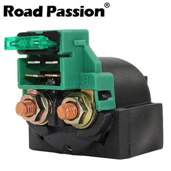 Road Passion Motorcycle Starter Solenoid Relay Ignition Switch For HONDA CMX450 NX250 VTR250 CB-1 400 F CB125 CB400 CB400SF image