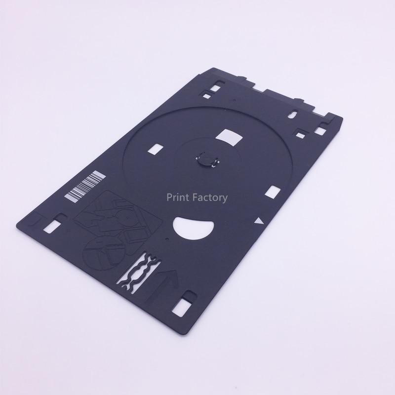 Free Shipping Original CD Tray Printer DVD Printing Holder For Canon MG7580 MG7720 MG7520 MG6300 MG5420 MG5400 MX922