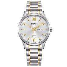 BIDEN Clásico Casual de Negocios Reloj de Acero Inoxidable de Los Hombres Relojes relogio masculino Masculino Reloj de la Venta de Velocidad A Través del Comercio Exterior