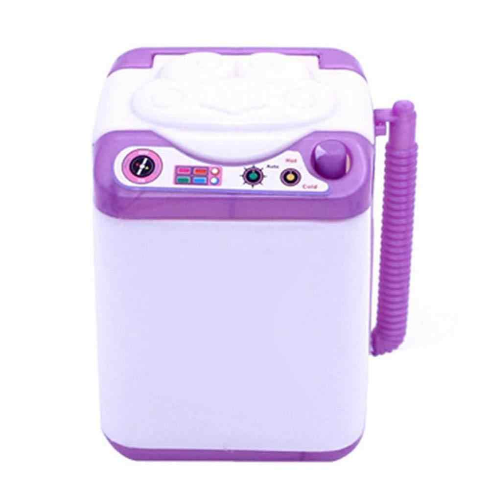 Children Pretend Role Play Mini Simulated Kids Children Washing Machine Role Play Toys Gift Doll Accessories Kids Educational To