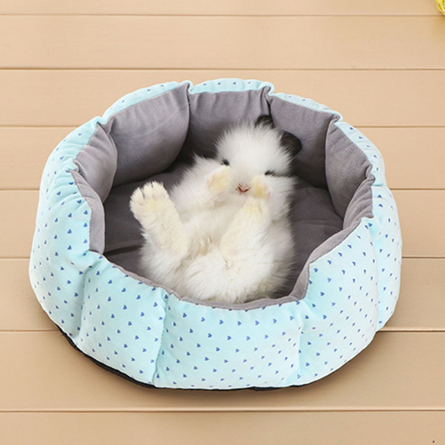Rabbit Guinea Pig Cat House Bed Mat Cushion Winter warm Squirrel Hedgehog Chinchilla Hamster Bed House Cage Nest Rabbit Supplier