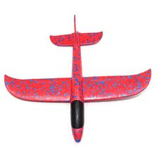 Kids Toys Diy Biplane 1Pcs EPP Foam Hand Throw Airplane Outdoor Launch Glider Plane Gift Toy 48CM Interesting Toys For Children