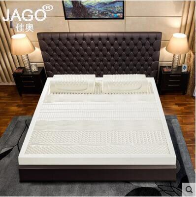 JAGO Thailand origin Natural latex mattress massage body health care mattress natural latex mattress comfort revolution hydraluxe gel memory foam mattress
