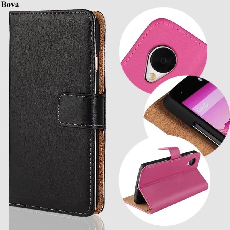 För Fundas LG Nexus 5 täckväska Premium PU läder plånbok för LG Nexus 5 med kortplatser och kontanthållare GG
