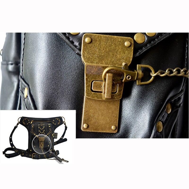 ombro de couro retro punk Multi-purpose : Cell/mobile Phoe/iphone/cigarette/key/case/money Bag