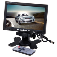 7'' Color TFT LCD Monitor Car Rear View Monitor Rearview Display Screen for Vehicle Backup Camera Parking Assist System