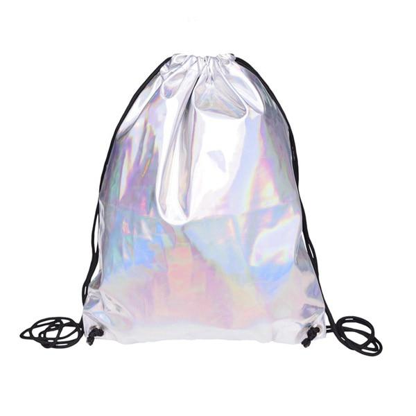Shiny Hiking Gym Bag Backpack School Bookbags