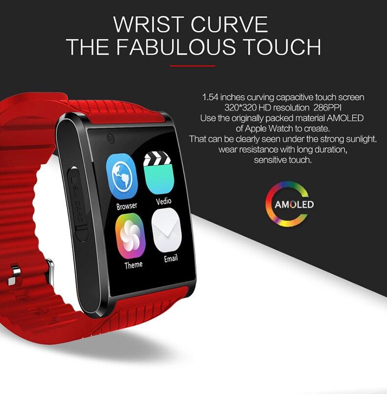 df66c58e795 Fashion New Android 5.1 Smartwatch bluetooth watch sportwatch with front  camera support GPS Nano SIM Card WIFI. -Eg1 01 -Eg1 02 -Eg1 03 ...