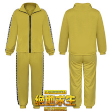 2018 New Adult Cosplay Clothing  Playerunknown's Battlegrounds Pubg Tactical Games Yellow Chicken  Party Role Play Costume game pubg playerunknown s battlegrounds cosplay costumes yellow sport sets man woman clothing high quality chicken dinner