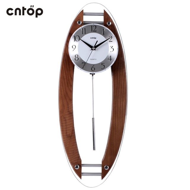 CNTOP quartz watches western style living room wall clock pendulum