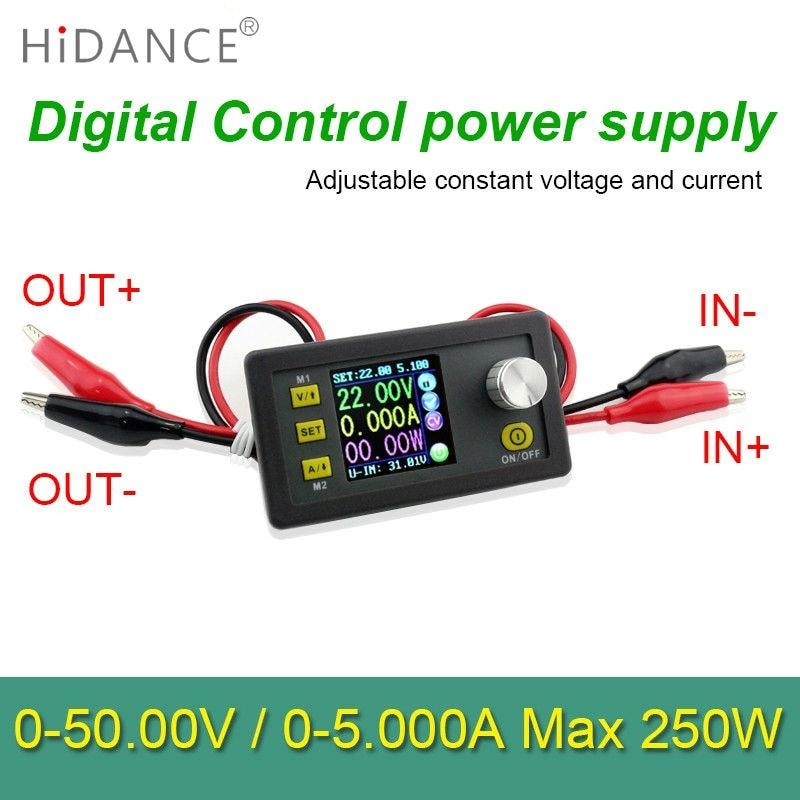 ФОТО Digital Control power supply 50V 5A Adjustable Constant Voltage Constant  current  tester DC voltmeter Regulators Ammeter