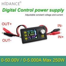 Control Digital fuente de alimentación de 50 V 5A Ajustable Voltaje Constante Constante Reguladores de corriente tester DC voltímetro Amperímetro
