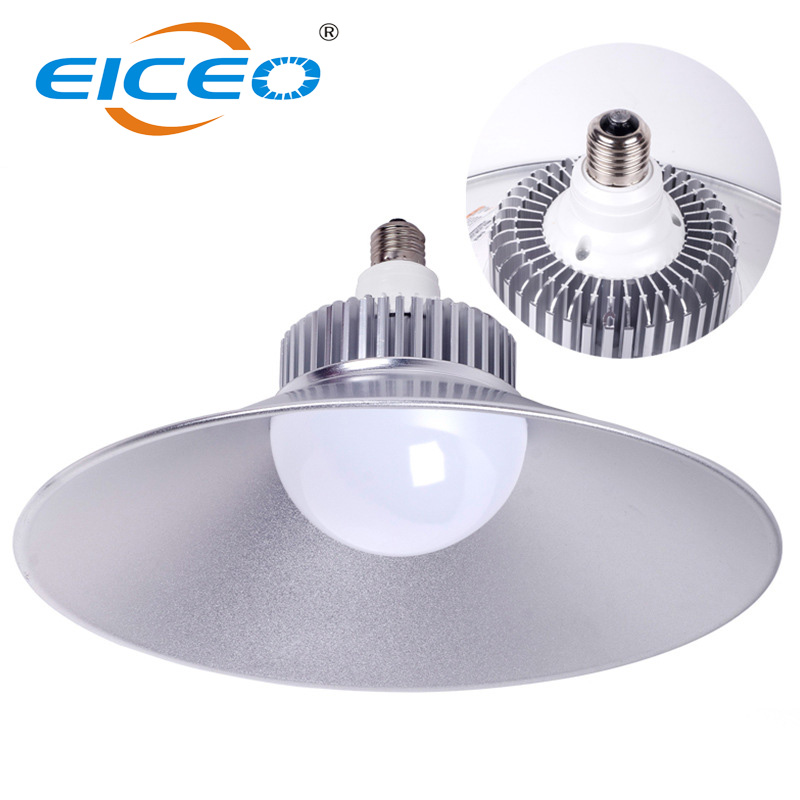 Industrial 220V 30W 50W 100W High Power LED High Bay Light IP44 E27 Led Lamp Holder High Brightness for Warehouse Lighting