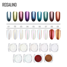 Rosalind Starry Nail Power 7 Colors Holographic Laser Nail Glitters Du