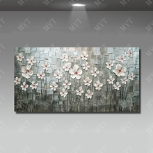 5d diamond painting beautiful flower tree canvas wall art painting knife oil painting for home sense