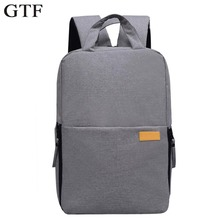 GTF DSLR Camera Bag Laptop Backpacks Waterproof Rucksack Travel Multifunctional Backbag for Lens Tripod Accessories Bags
