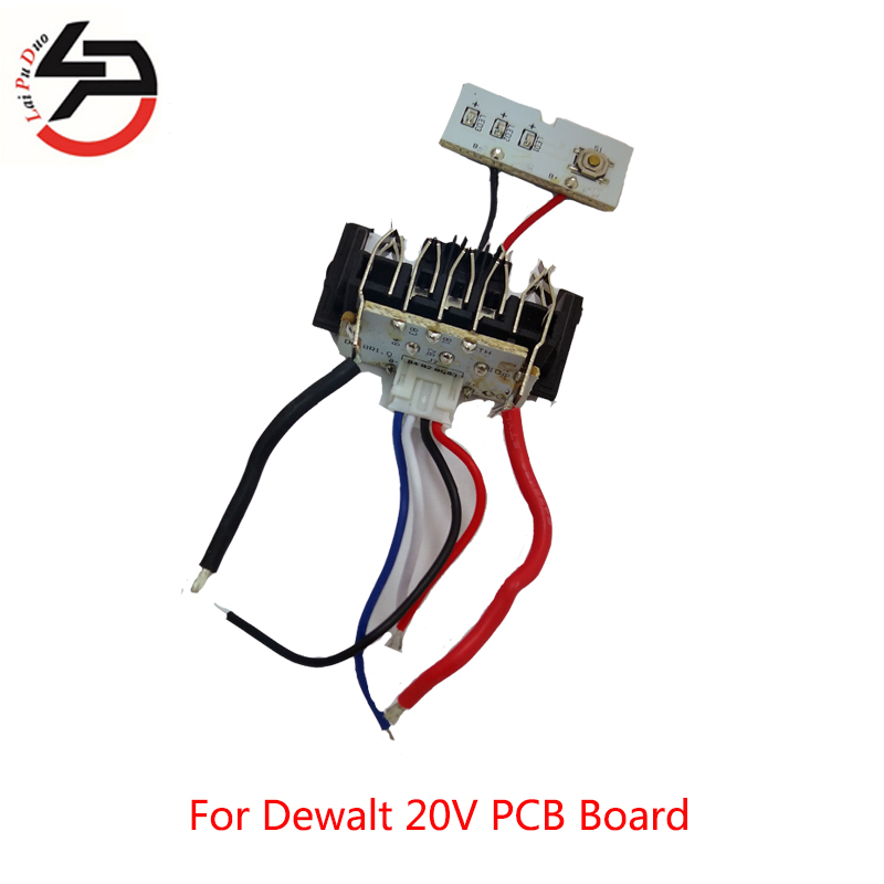 For Dewalt Li-ion Battery PCB Circuit Board Charging Protection DCB201 DCB203 DCB204 18V 20V 1.5Ah DCB200