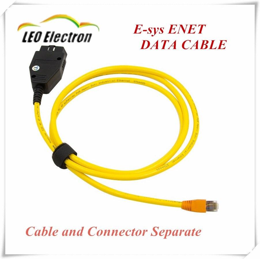 Prix pour Nouveau ESYS Données Câble OBD Ethernet Code pour B MW ICOM a2 Interfac OBD2 pour B MW ESI Enet Câble E-SYS ICOM Codage De Diagnostic câble