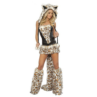 2014 Limited Rushed Kigurumi Disfraces Carnival Costume Halloween Big Women S Xuebao Cosplay Game Service Costumes